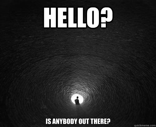 Hello Anybody There